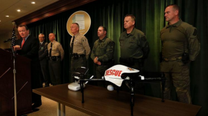 L.A. Sheriff start using drones
