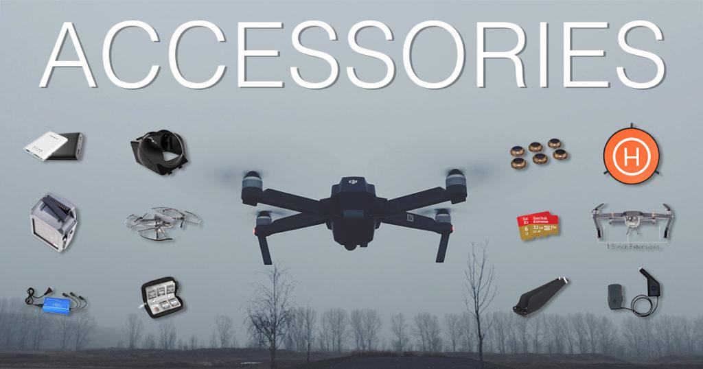 Best Accessories Extras for DJI Mavic Pro