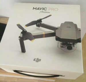 DJI Mavic Pro Platinum Edition Details Photo