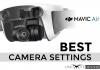 mavic air camera settings