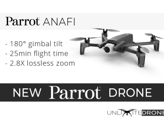 anafi parrot drone