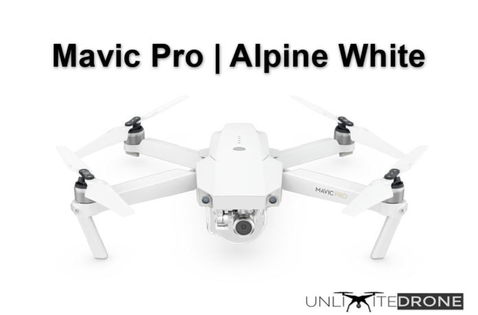 dji mavic pro alpine white discount