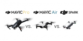 mavic pro vs mavic air vs spark dji comparison