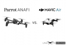 parrot anafi vs dji mavic air comparison