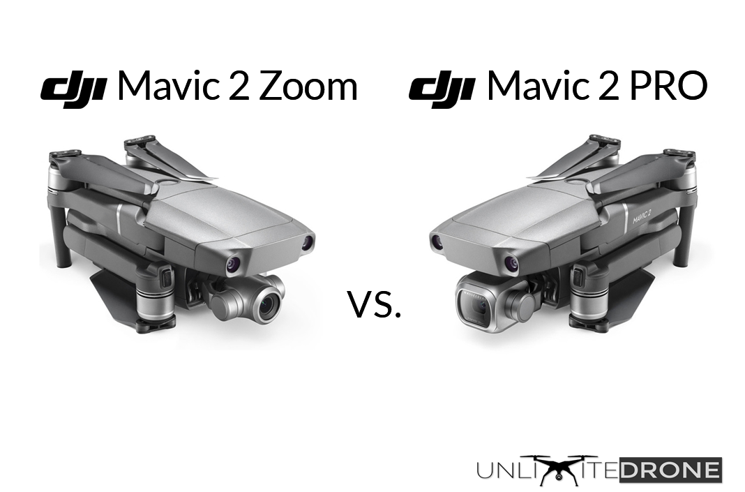 dji mavic 2 pro vs dji mavic 2 zoom comparison