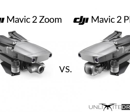 dji mavic 2 pro vs dji mavic 2 zoom comparison