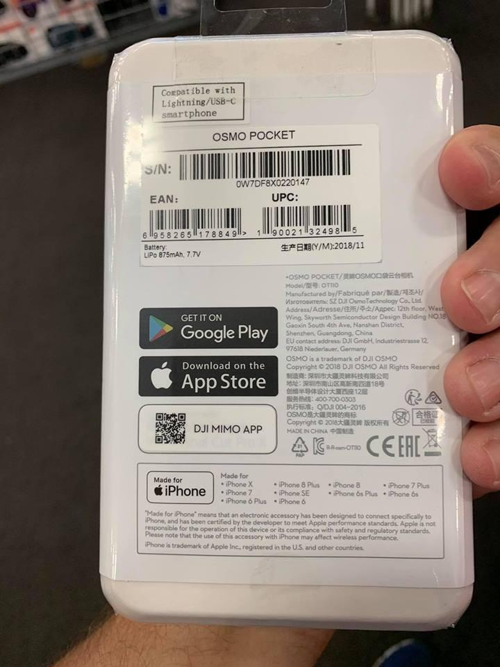 DJI OSMO Pocket November 28