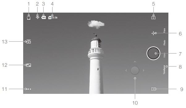 Kamera Ansicht Osmo Pocket Bedienungsanleitung