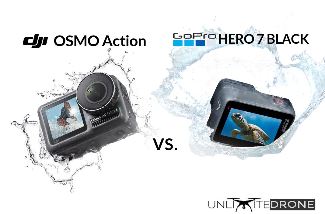DJI OSMO Action vs  GoPro HERO7 Black | Comparison