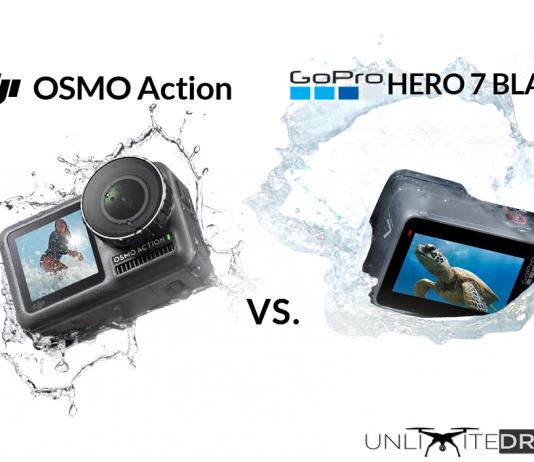 DJI Osmo Action vs GoPro HERO 7 Black