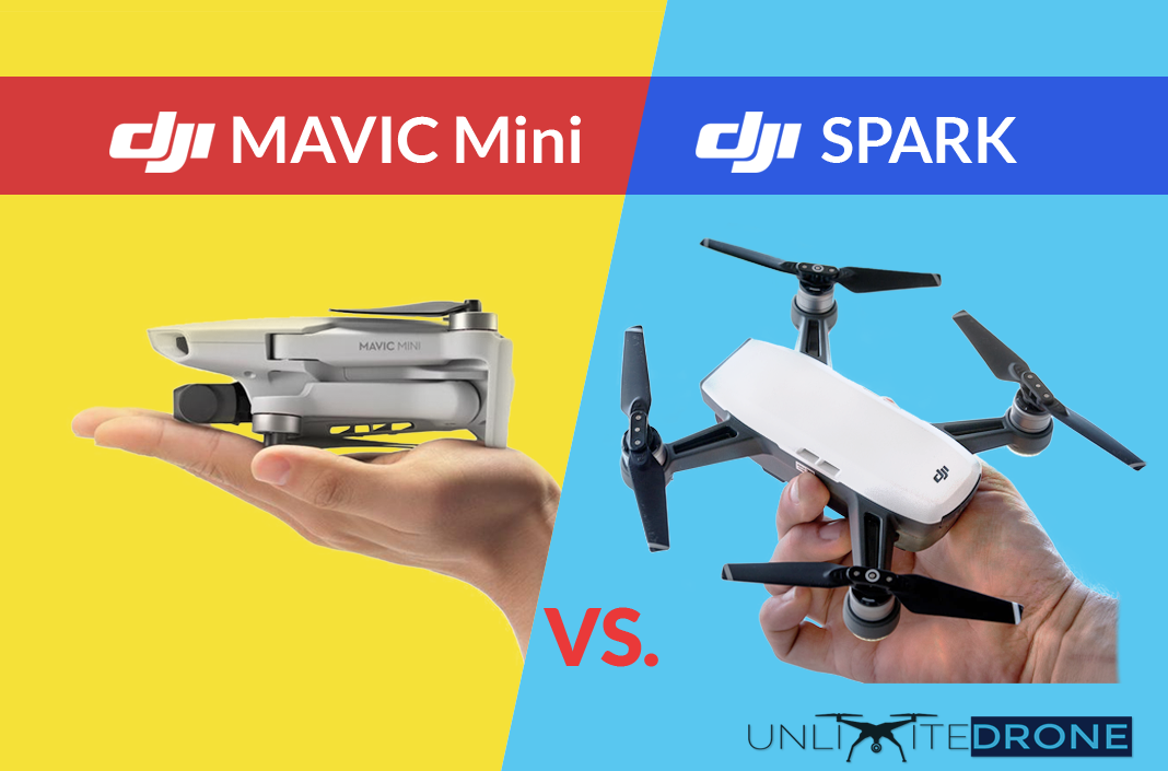 Is Dji Mavic Mini Better Than Dji Spark Comparison Unlimitedrone