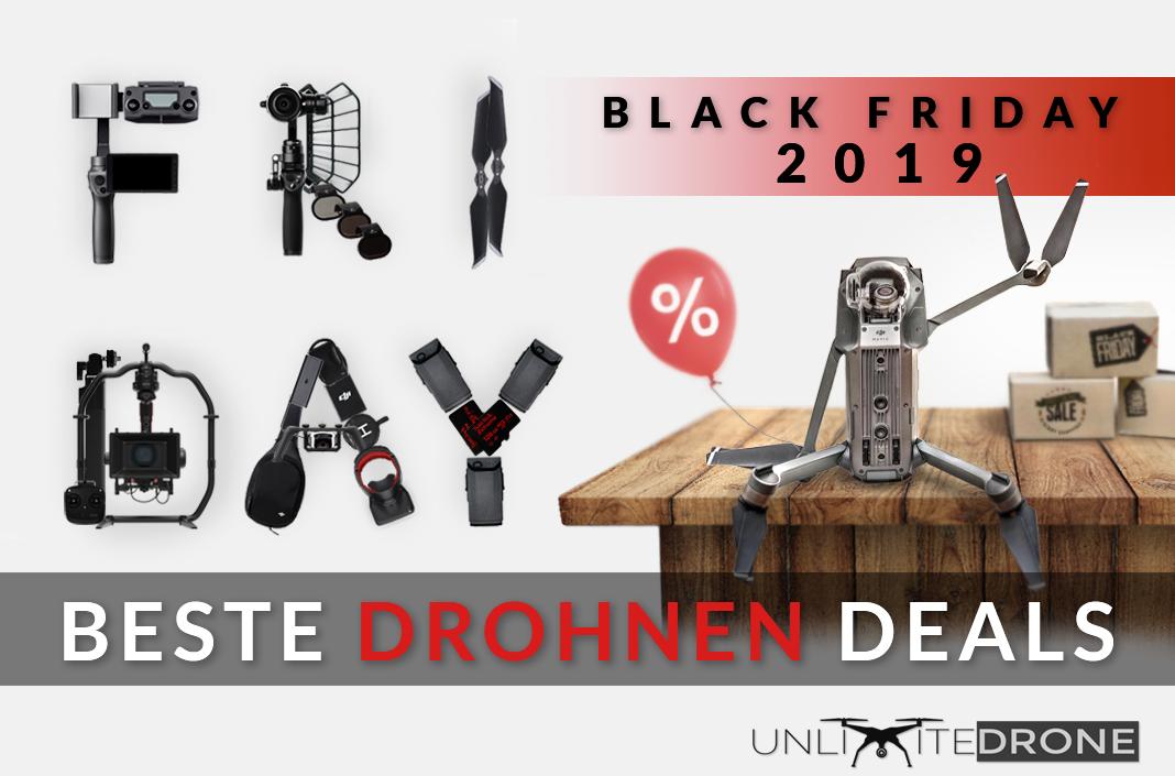 Die Besten Black Friday 2019 Drohnen Deals Unlimitedrone