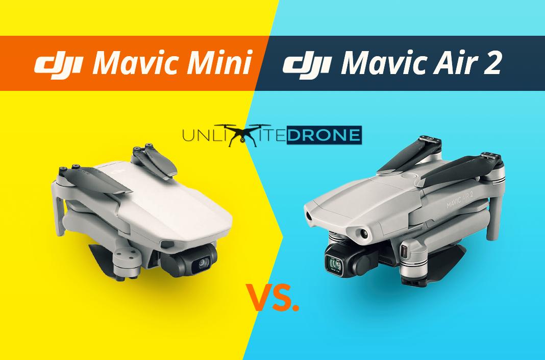Dji Mavic Air 2 Vs Mavic Mini Comparison Unlimitedrone